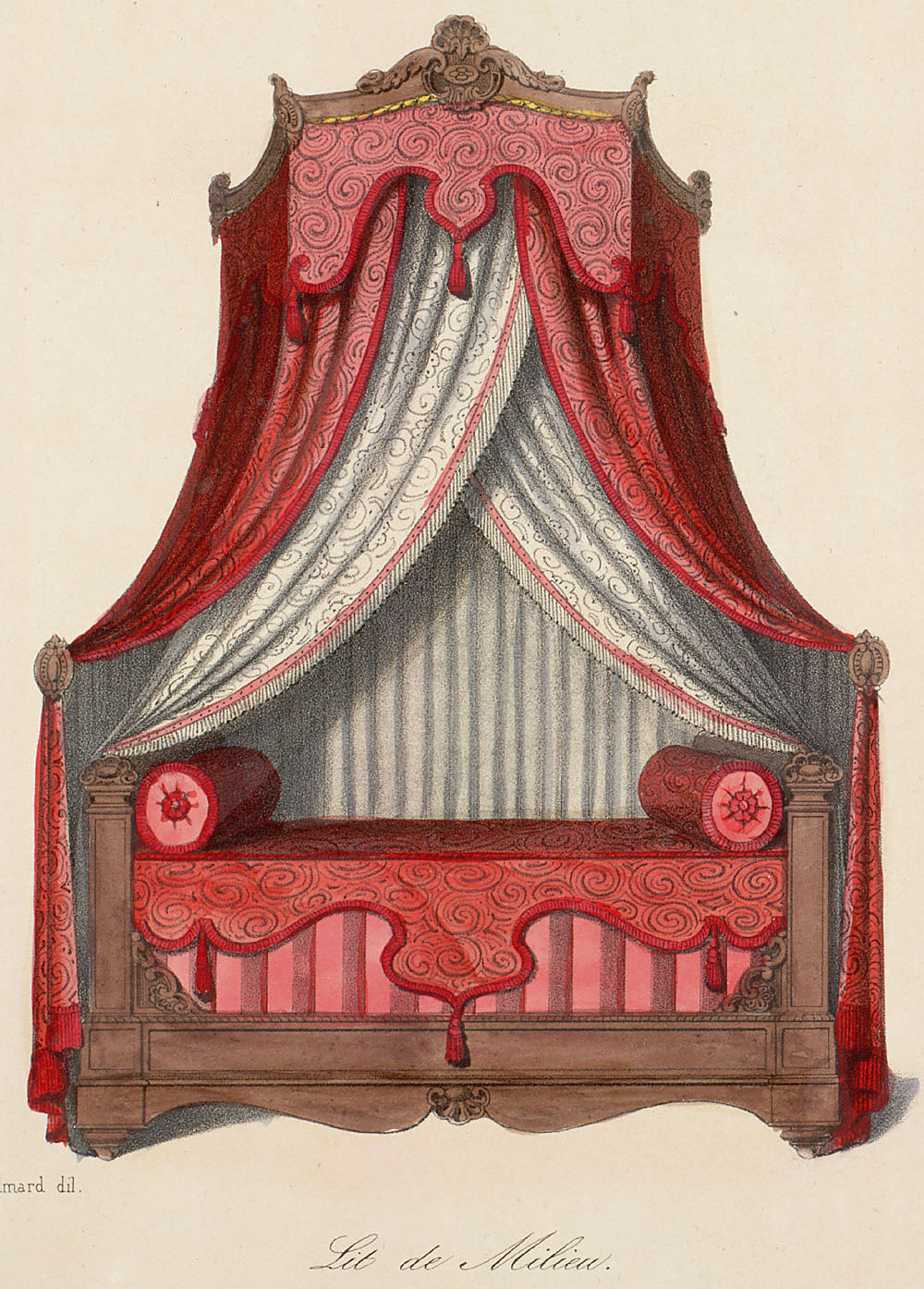 1000 images about historic window treatment and bedding for Garde meuble paris