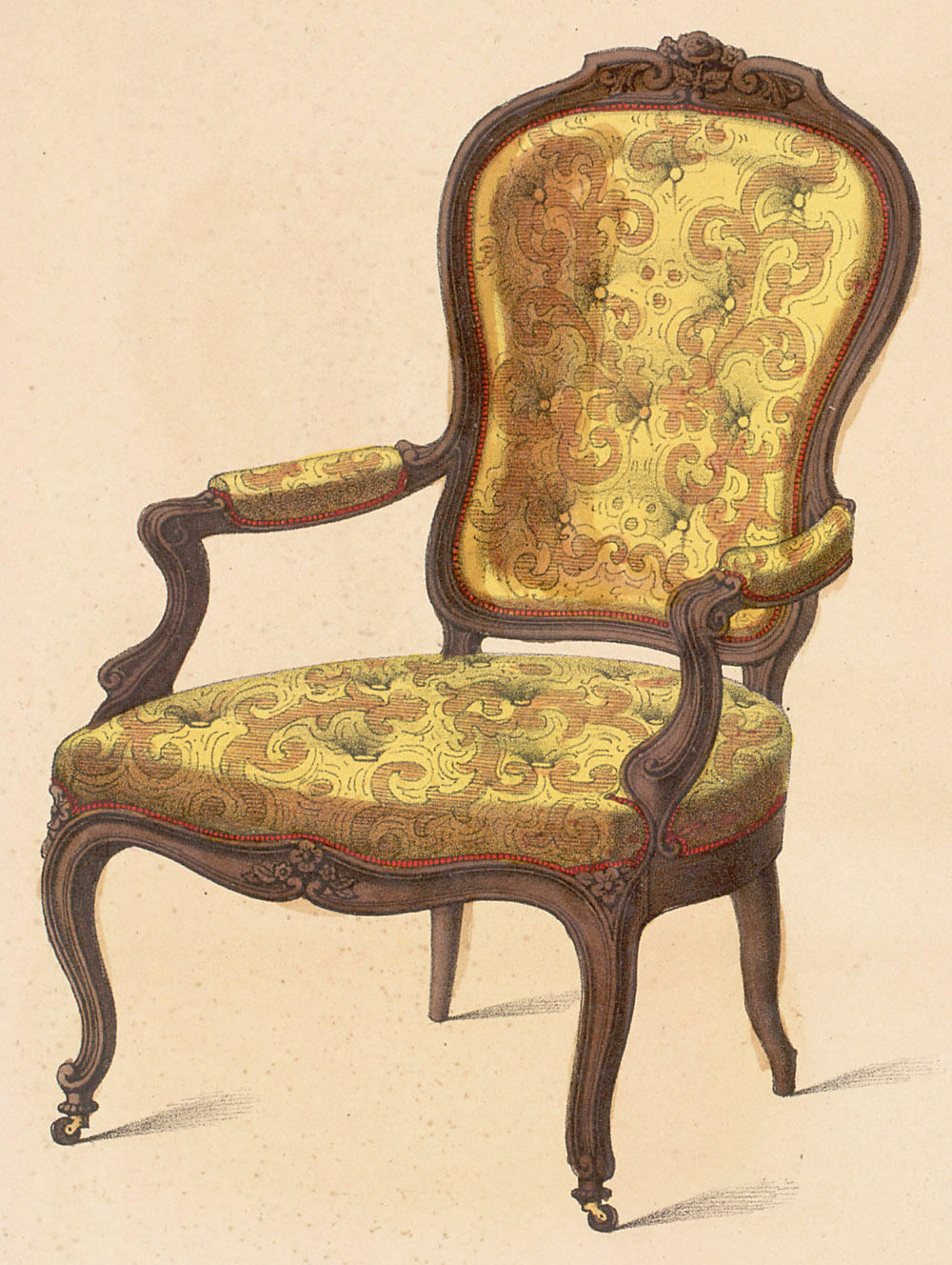 rococo furniture history the image kid has it. Black Bedroom Furniture Sets. Home Design Ideas