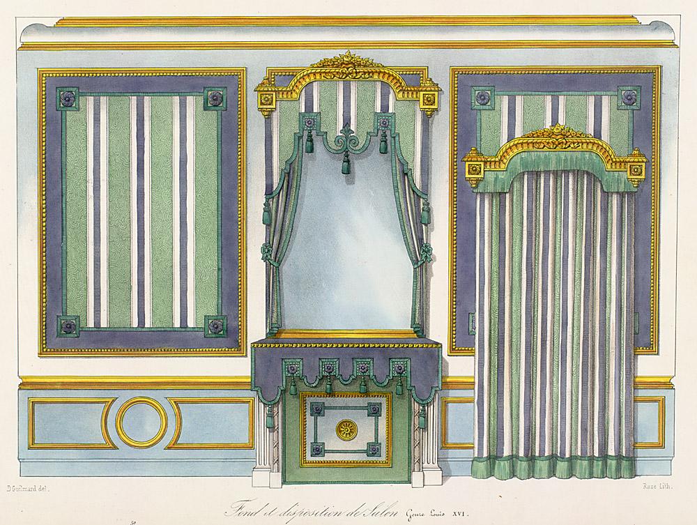 Le garde meuble for Interior elevation designs