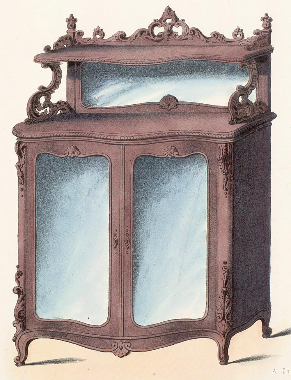 Le garde meuble Meuble 2 cases
