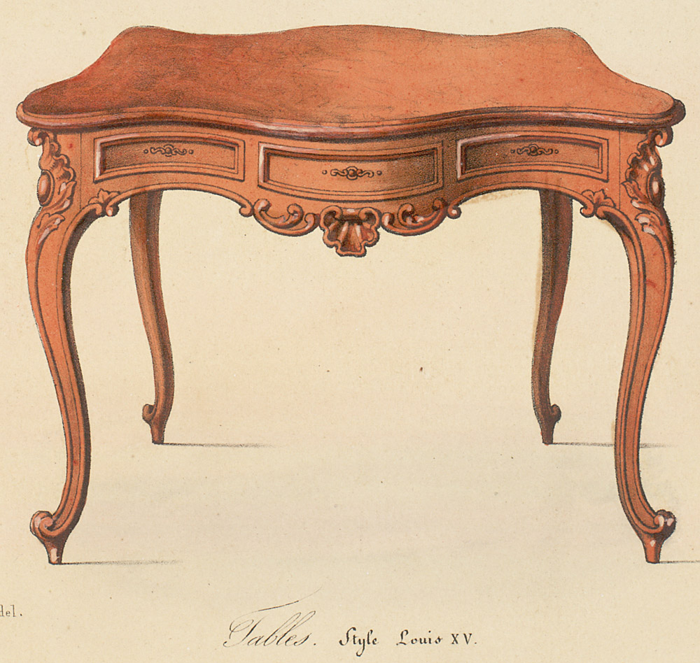 Charmant Style: Louis XV Enlarge Image