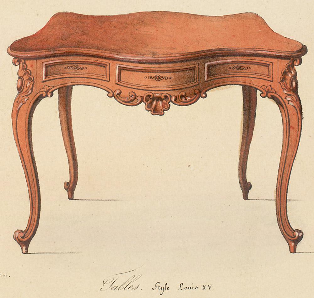 Le garde meuble - Mobilier style louis xv ...