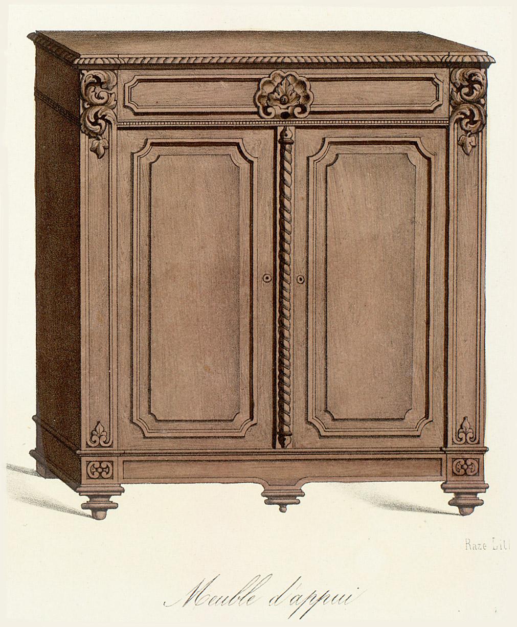 Le garde meuble for Meuble 2 cases