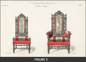 Le Garde-meuble illustrates French furniture styles #5