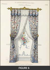 Le Garde-meuble as draperies for windows and baldaquins