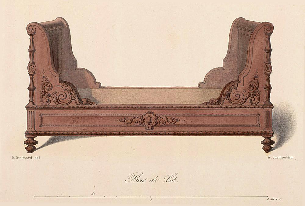 Beds (furniture),  Image number:SIL12-2-004b