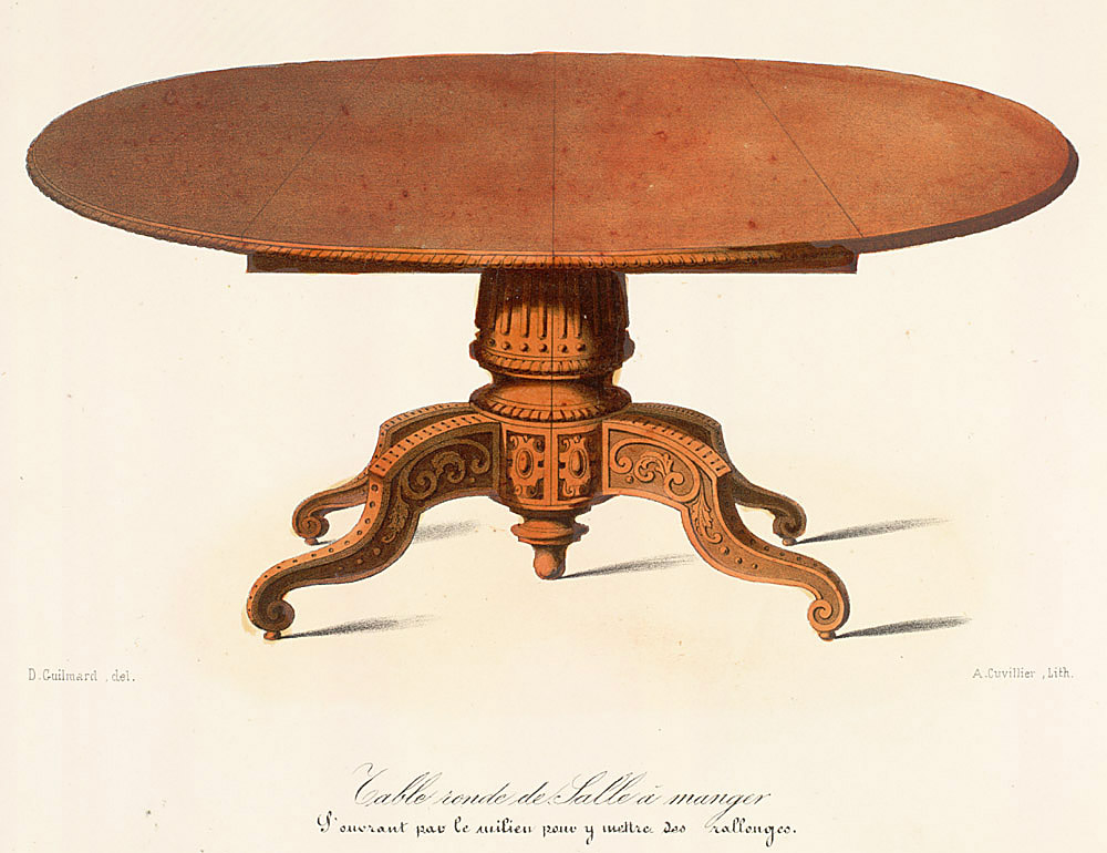 Tables (support furniture),  Image number:SIL12-2-031b