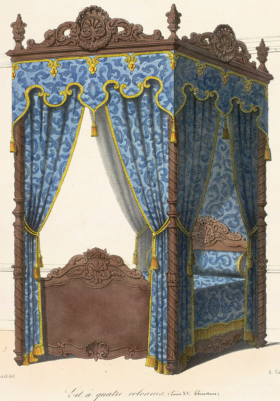 Beds (furniture),  Image number:SIL12-2-043b