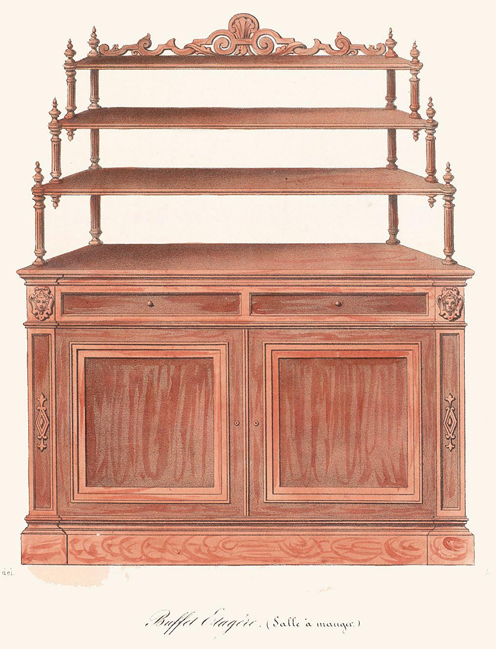 Cabinets (case furniture),  Image number:SIL12-2-078b