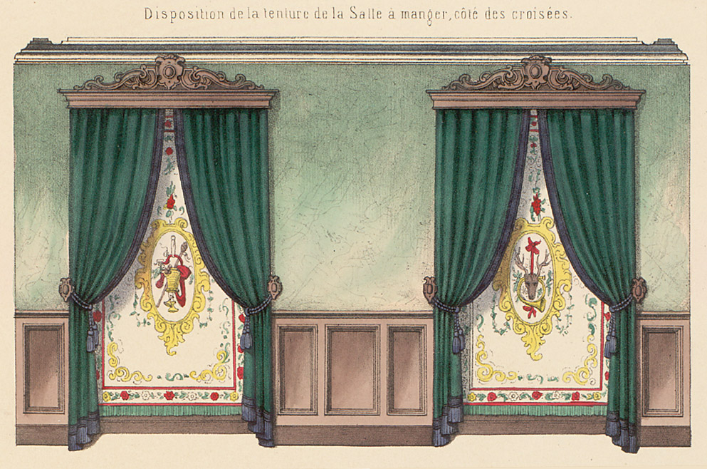 Interior Elevations,  Image number:SIL12-2-125b
