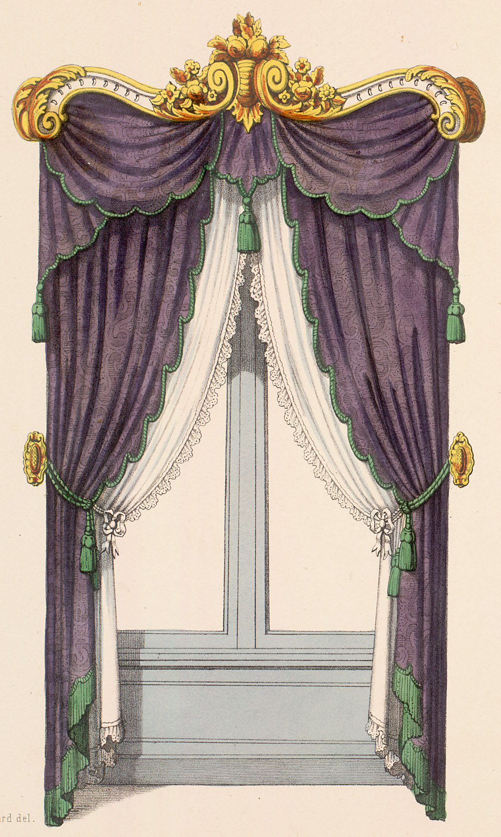 Window Treatment,  Image number:SIL12-2-126b
