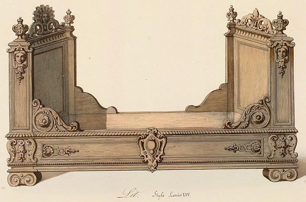 Beds (furniture),  Image number:SIL12-2-130b