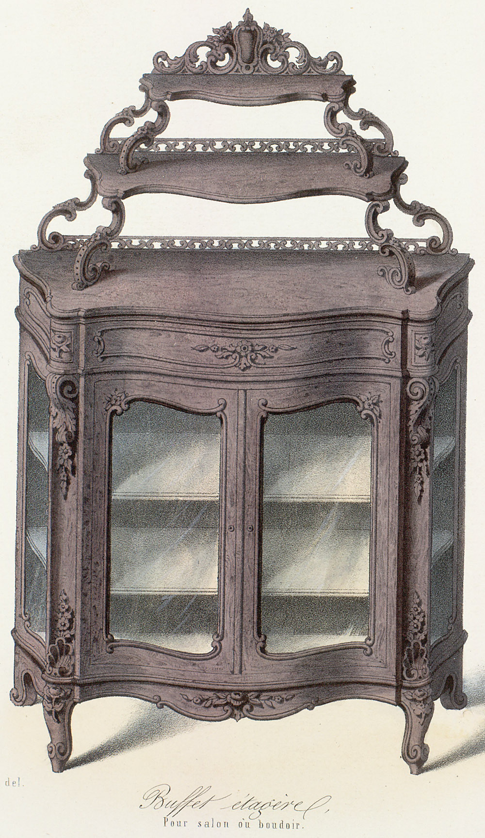 Cabinets (case furniture),  Image number:SIL12-2-139b