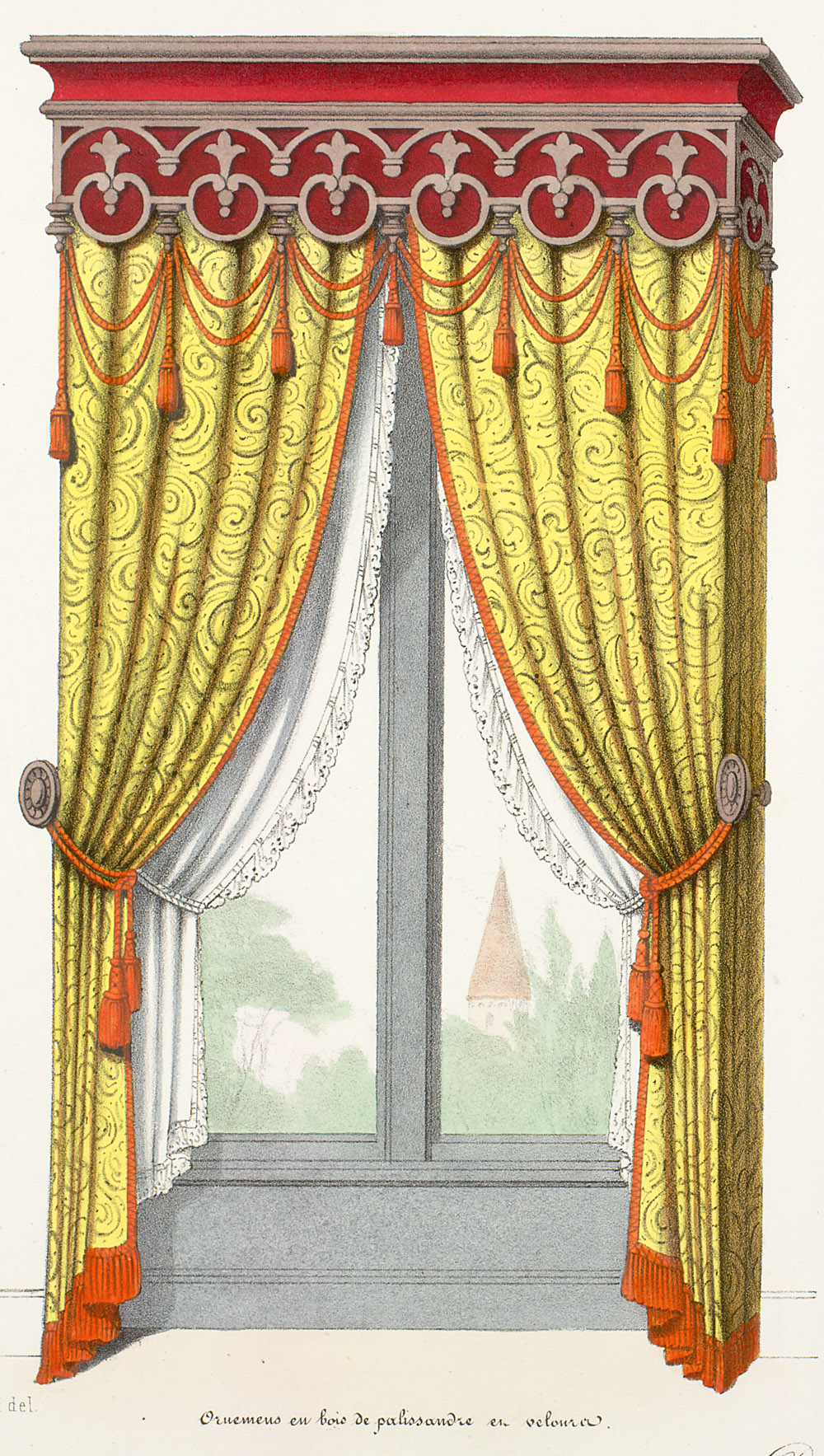 Window Treatment,  Image number:SIL12-2-153b