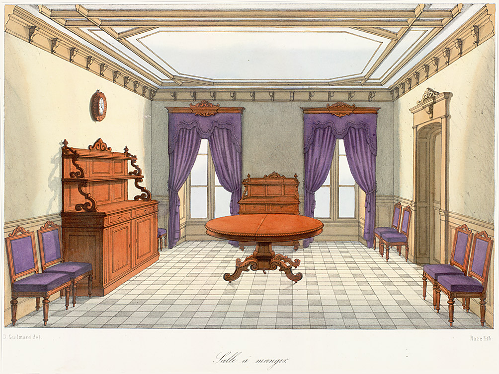 Interior Elevations,  Image number:SIL12-2-160b