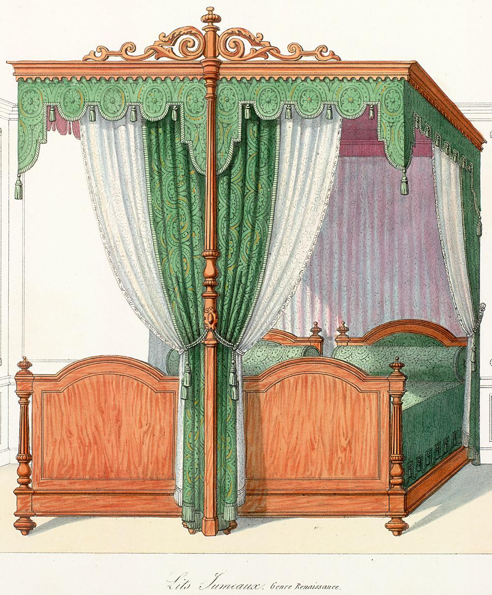 Beds (furniture),  Image number:SIL12-2-161b