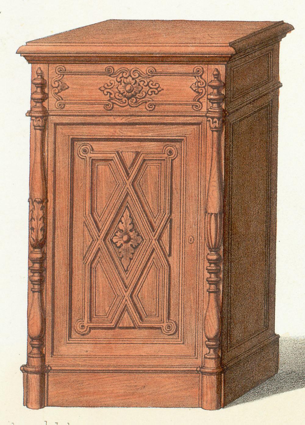 Cabinets (case furniture),  Image number:SIL12-2-221b