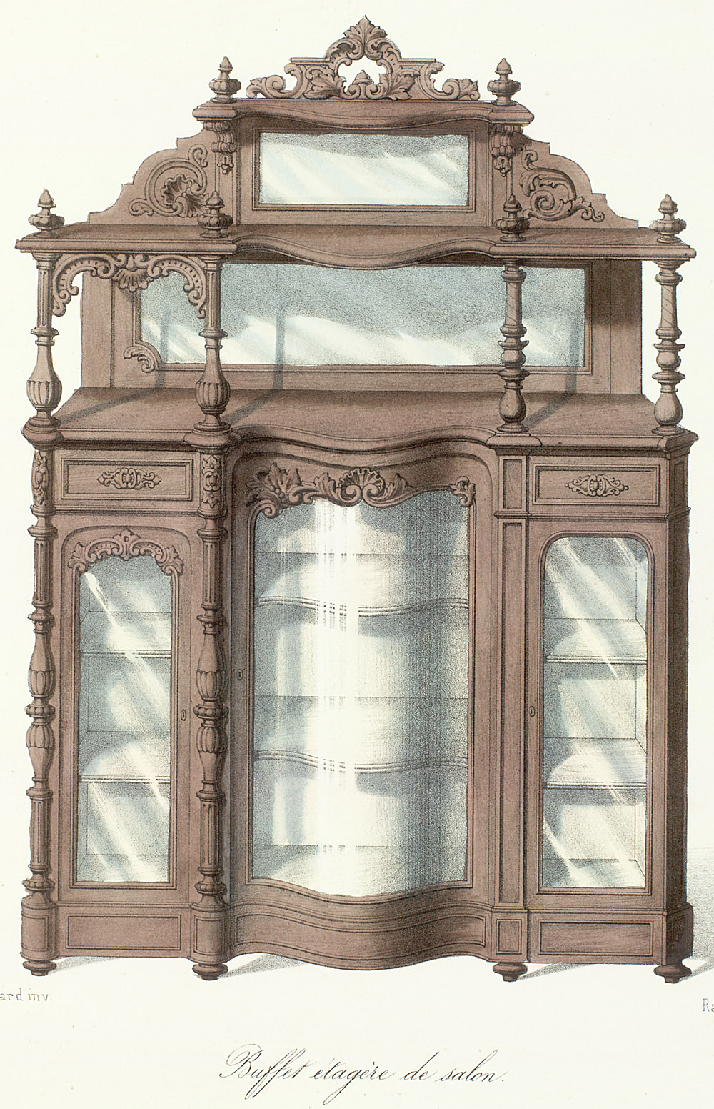 Cabinets (case furniture),  Image number:SIL12-2-222b