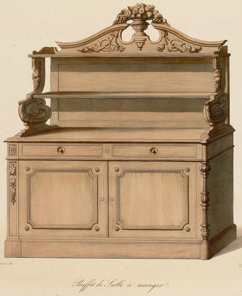 Cabinets (case furniture),  Image number:SIL12-2-231b