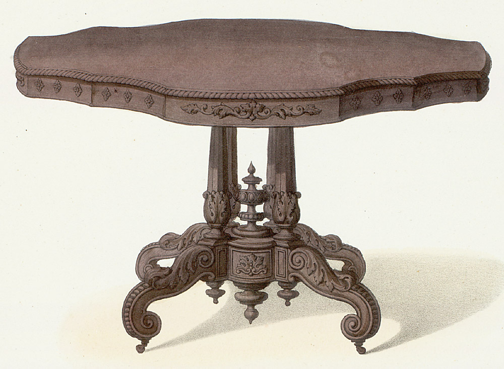 Tables (support furniture),  Image number:SIL12-2-267b