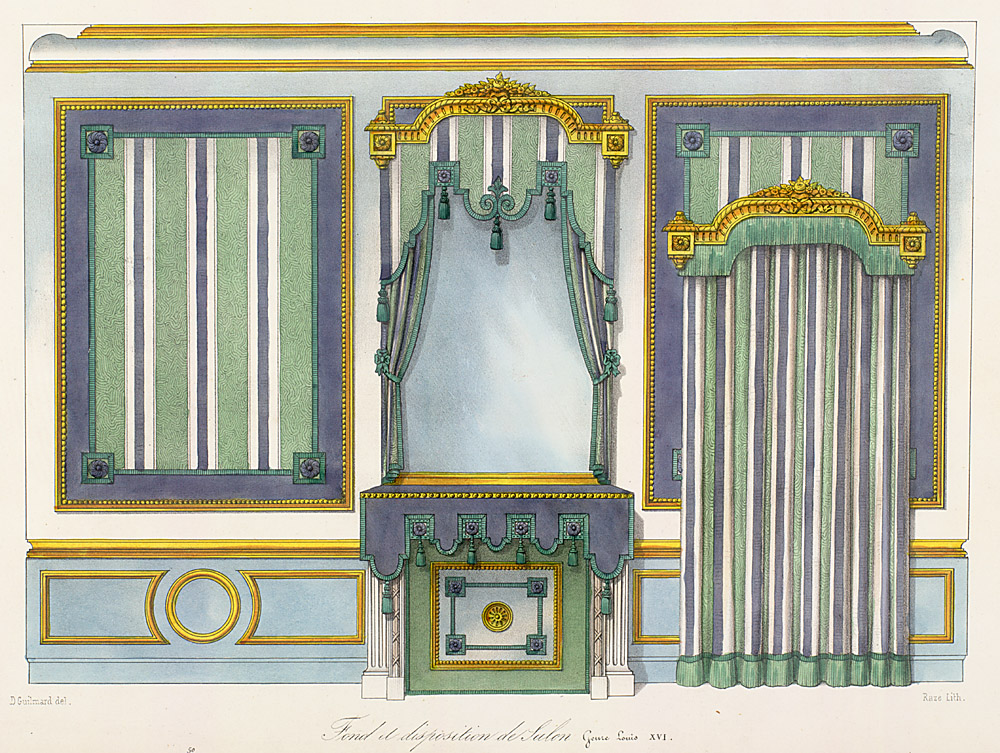 Interior Elevations,  Image number:SIL12-2-314b