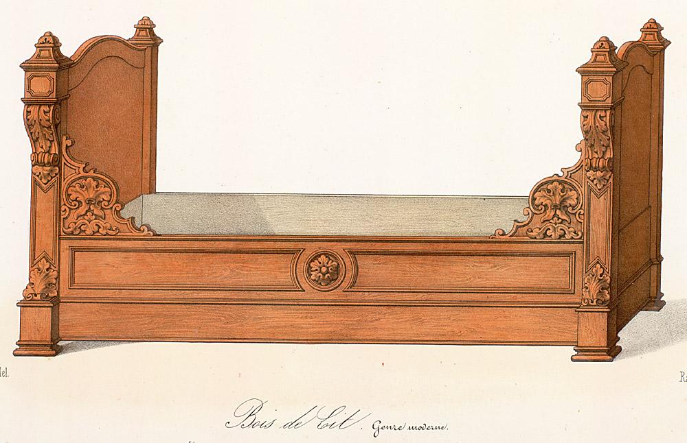 Beds (furniture),  Image number:SIL12-2-318b