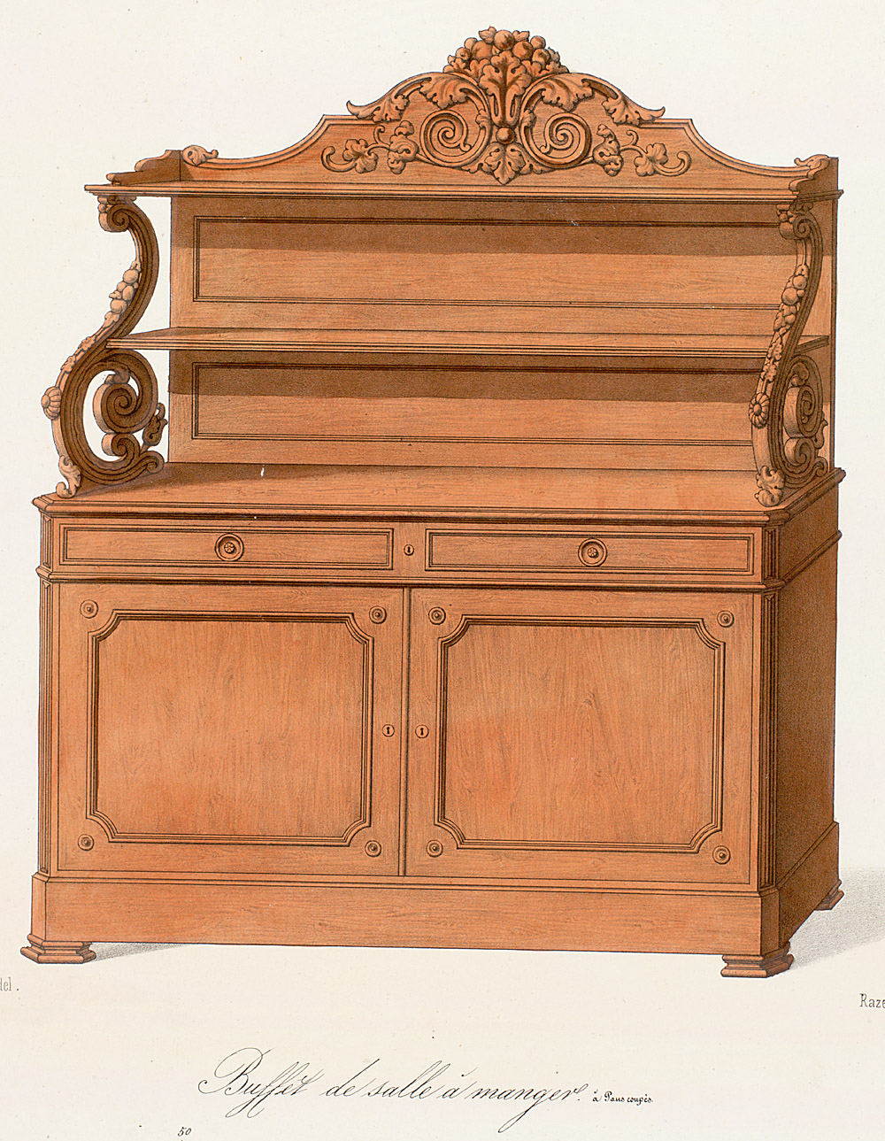 Cabinets (case furniture),  Image number:SIL12-2-320b