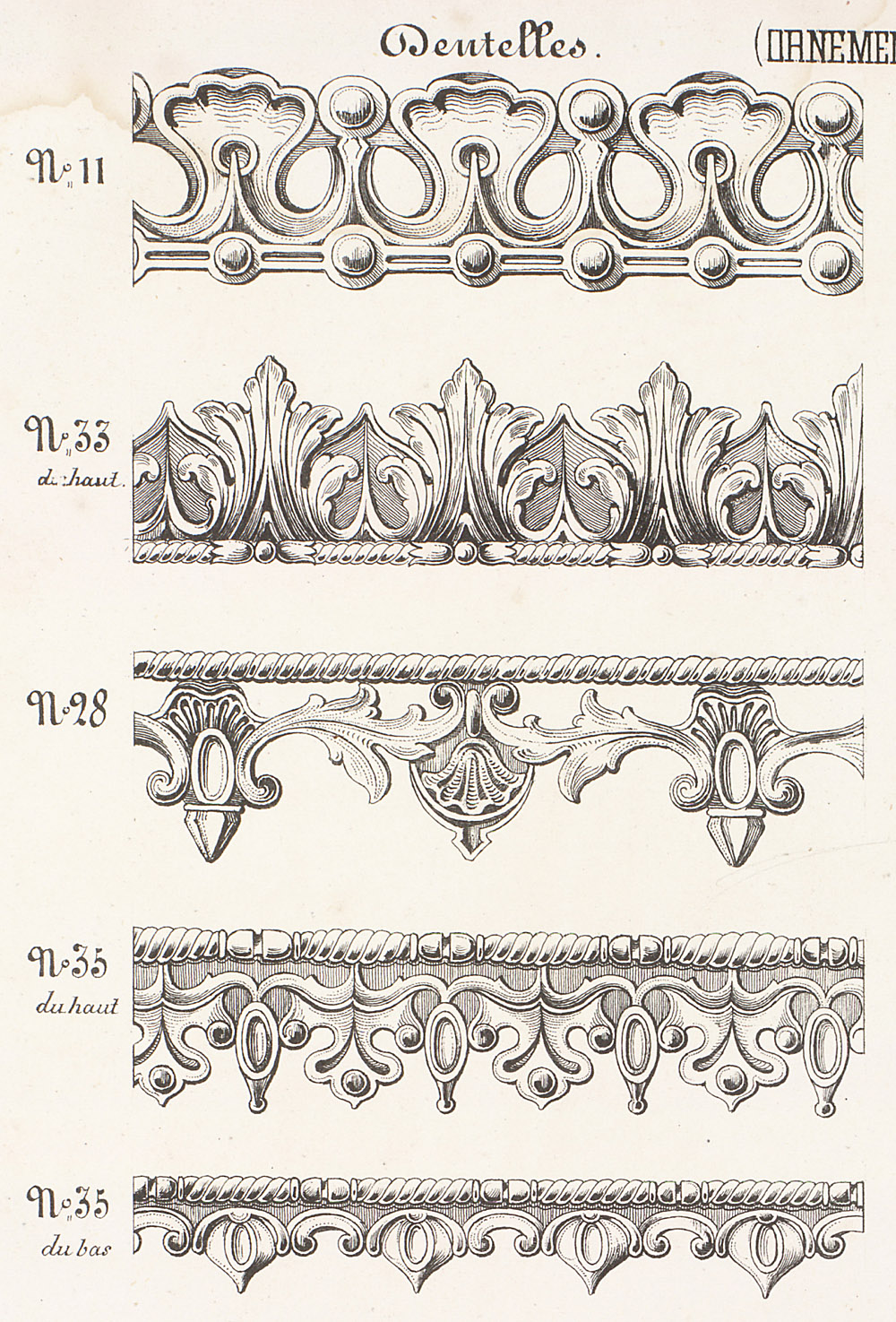 Cornices and Moldings,  Image number:SIL12-2-324b