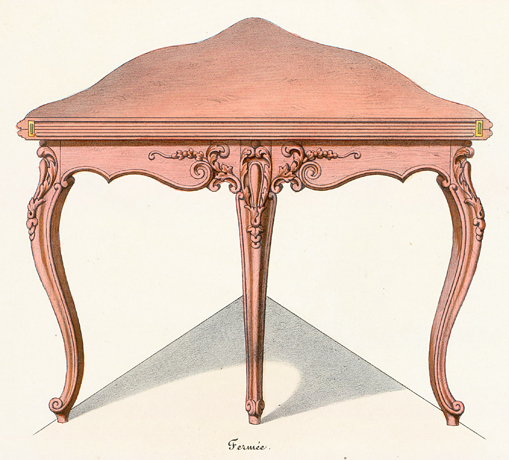 Tables (support furniture),  Image number:SIL12-2-354b