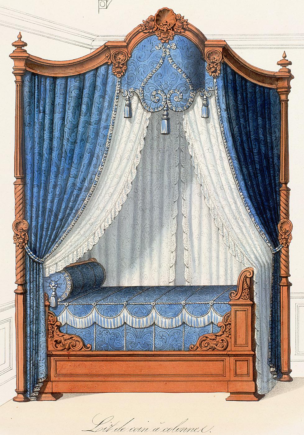 Beds (furniture),  Image number:SIL12-2-355b