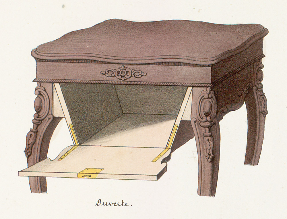 Tables (support furniture),  Image number:SIL12-2-362b