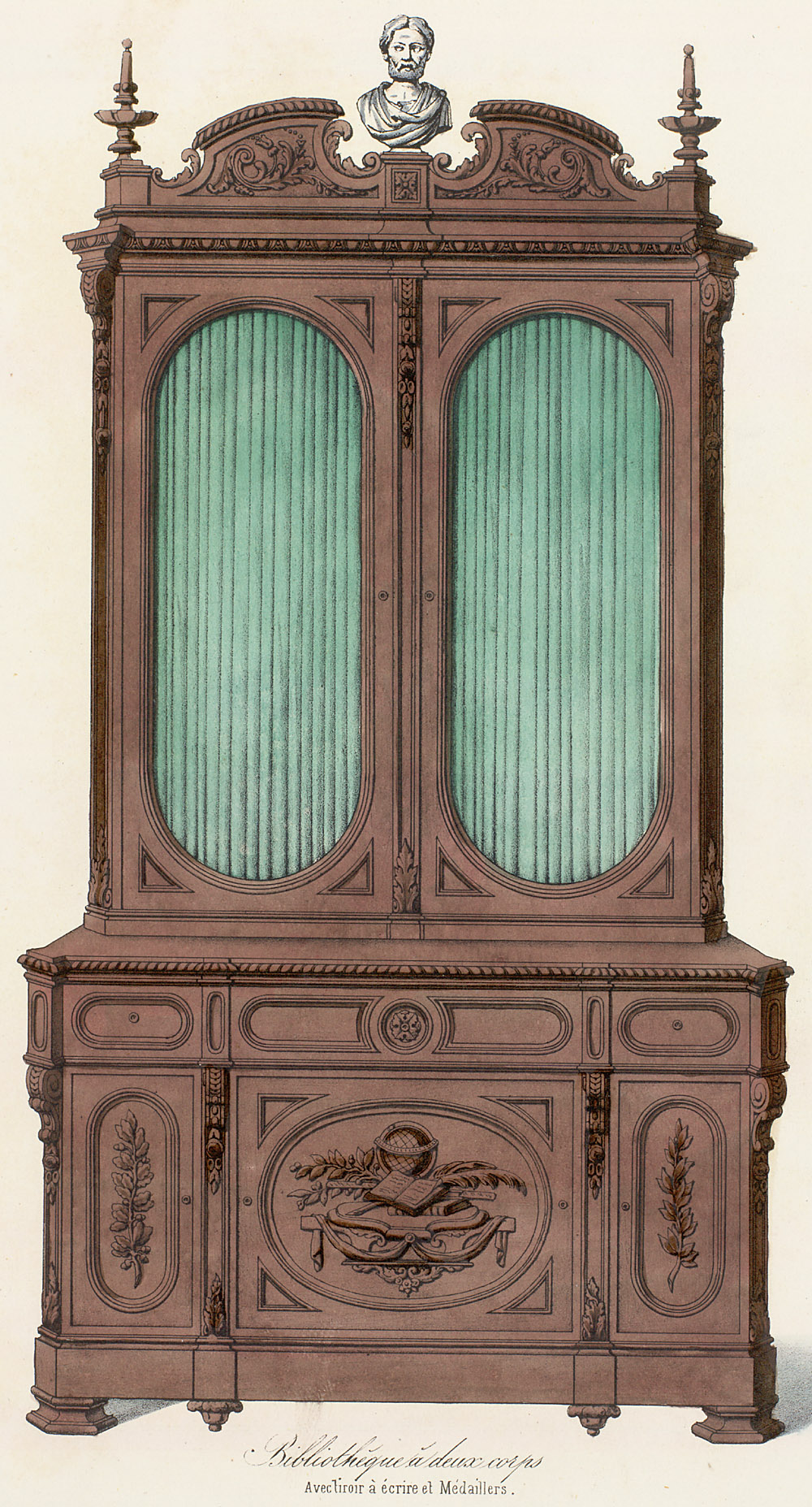 Cabinets (case furniture),  Image number:SIL12-2-416b