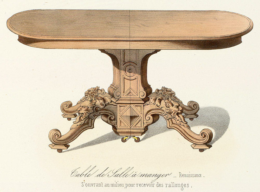 Tables (support furniture),  Image number:SIL12-2-424b