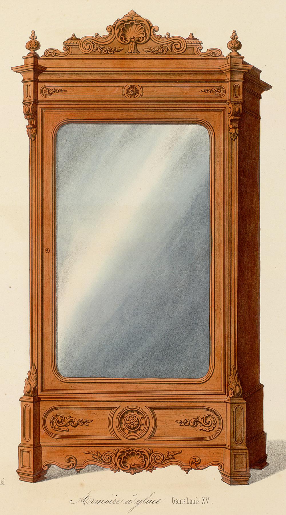 Cabinets (case furniture),  Image number:SIL12-2-435b