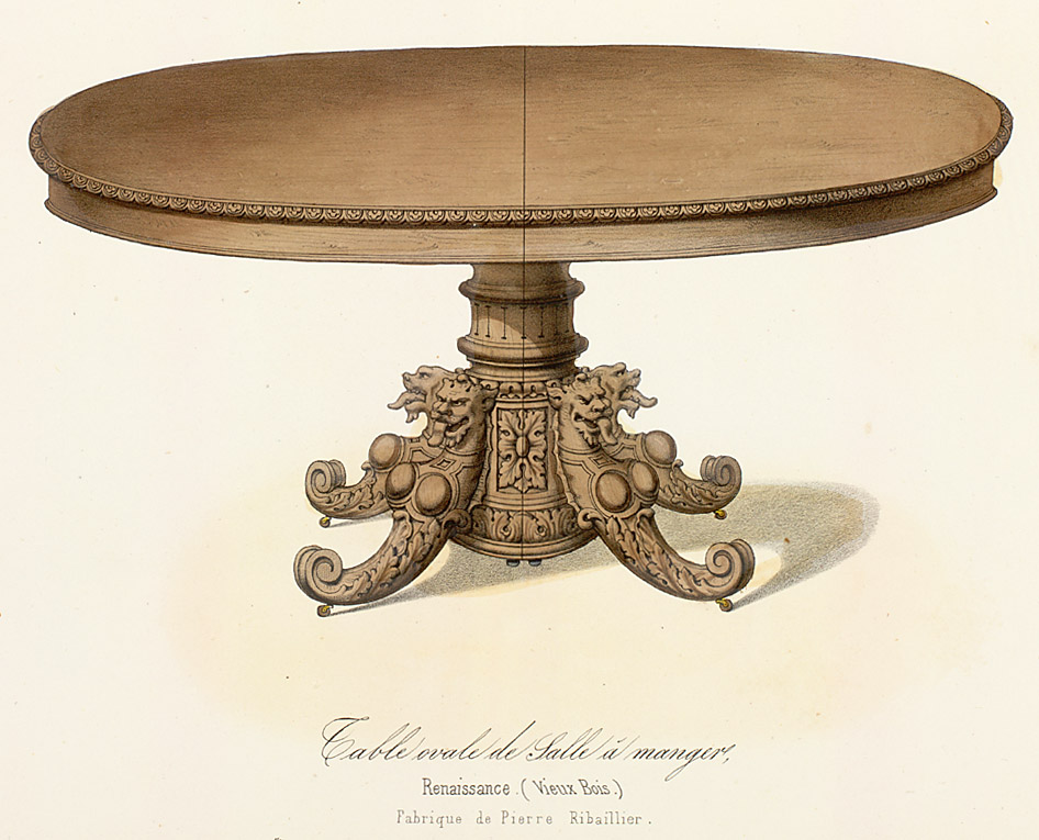Tables (support furniture),  Image number:SIL12-2-443b