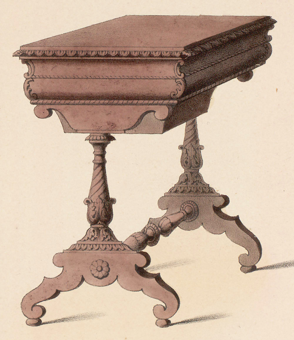 Tables (support furniture),  Image number:SIL12-2-015c
