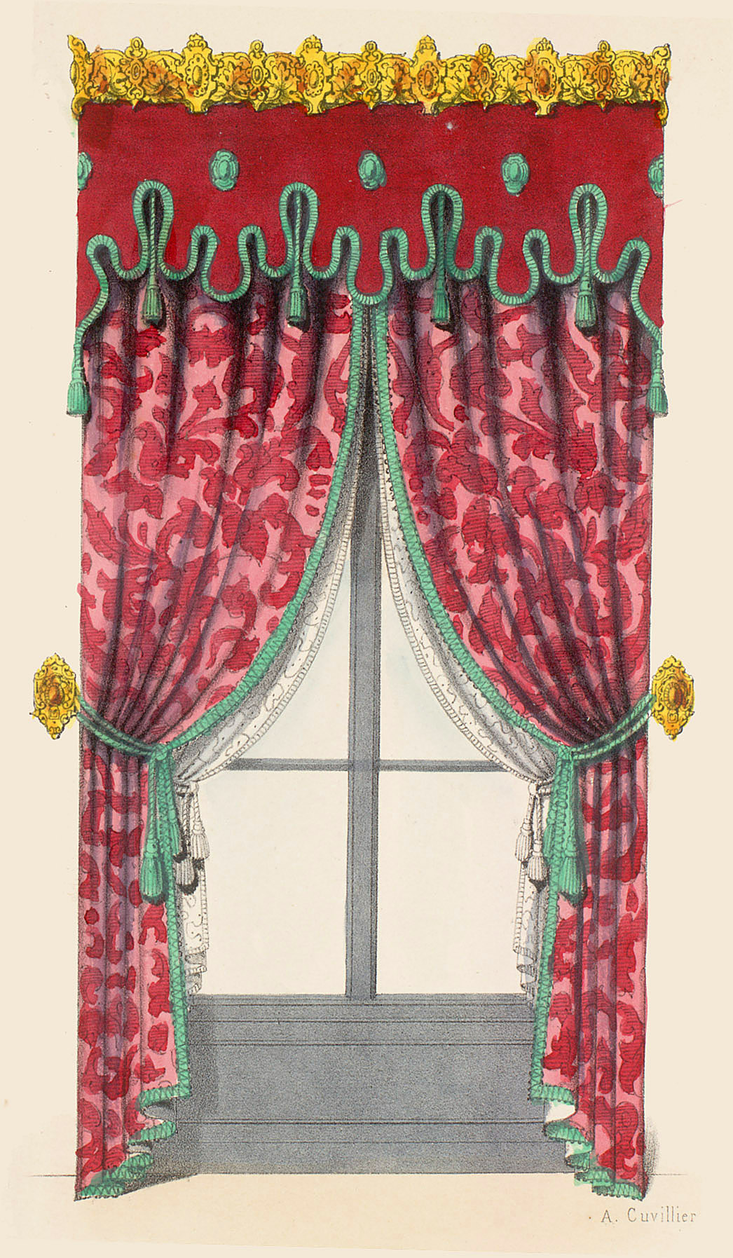 Window Treatment,  Image number:SIL12-2-017c