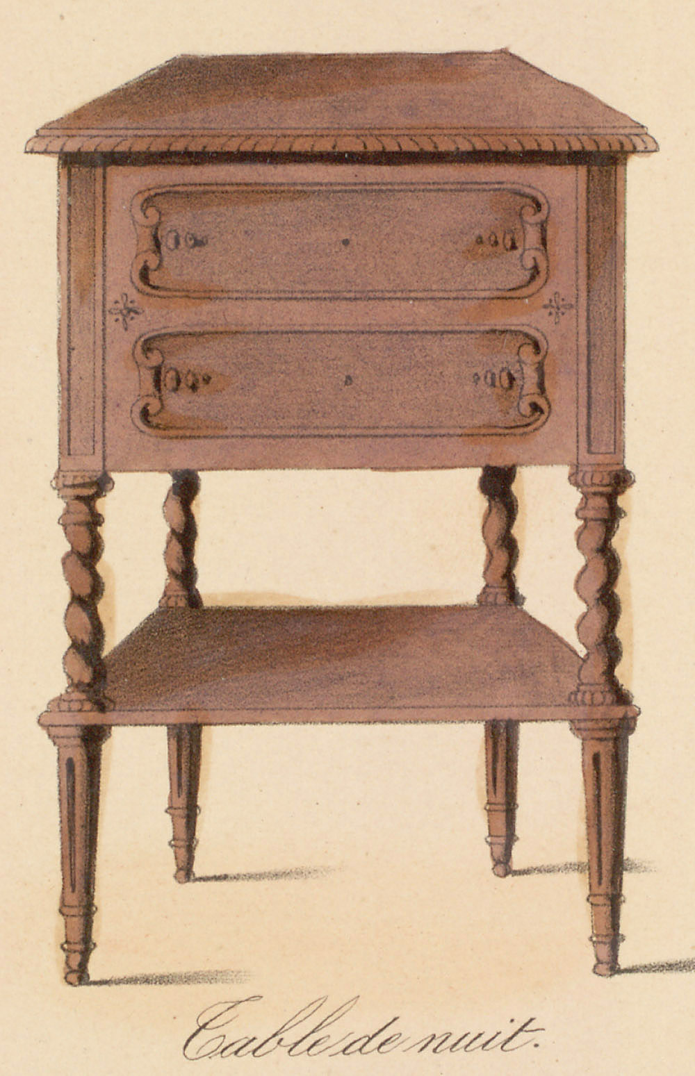 Cabinets (case furniture),  Image number:SIL12-2-022c