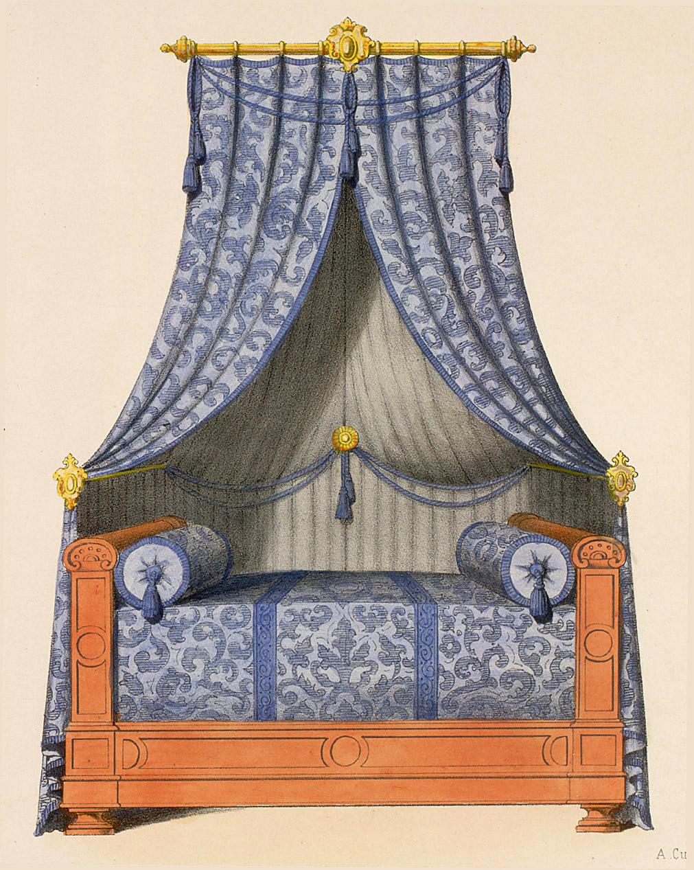 Beds (furniture),  Image number:SIL12-2-035c
