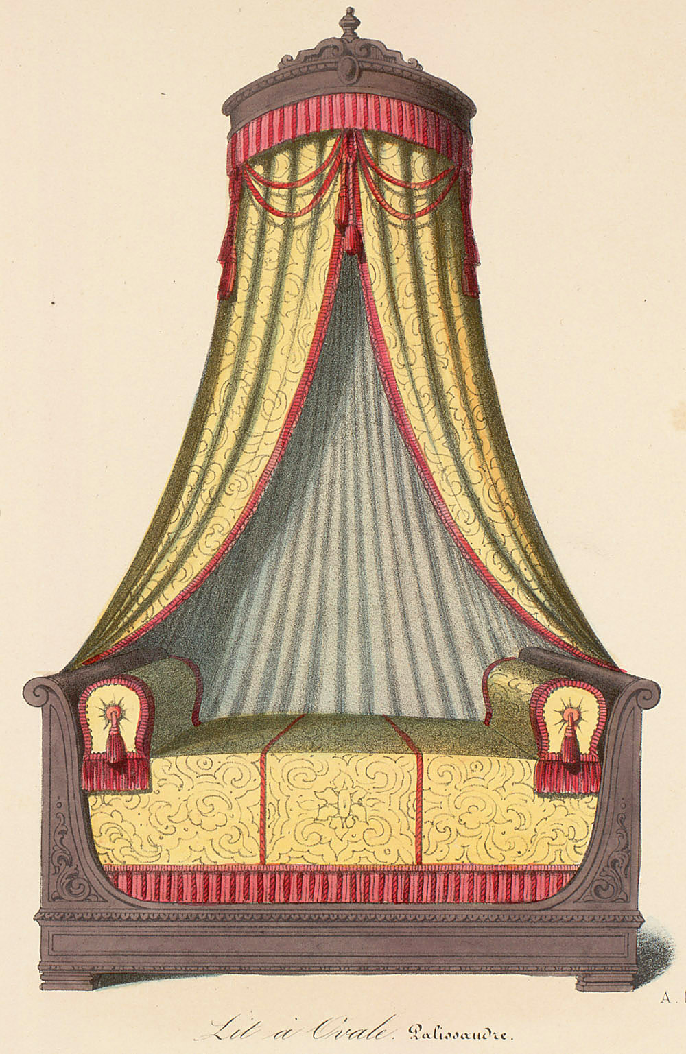 Beds (furniture),  Image number:SIL12-2-052c