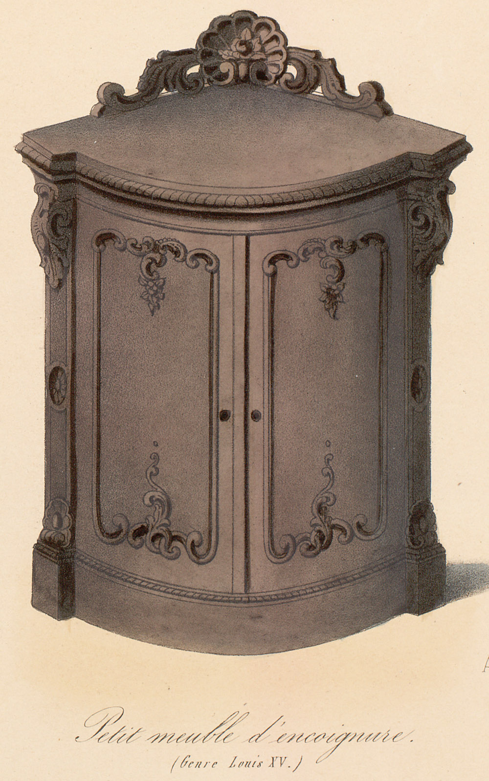 Cabinets (case furniture),  Image number:SIL12-2-113c