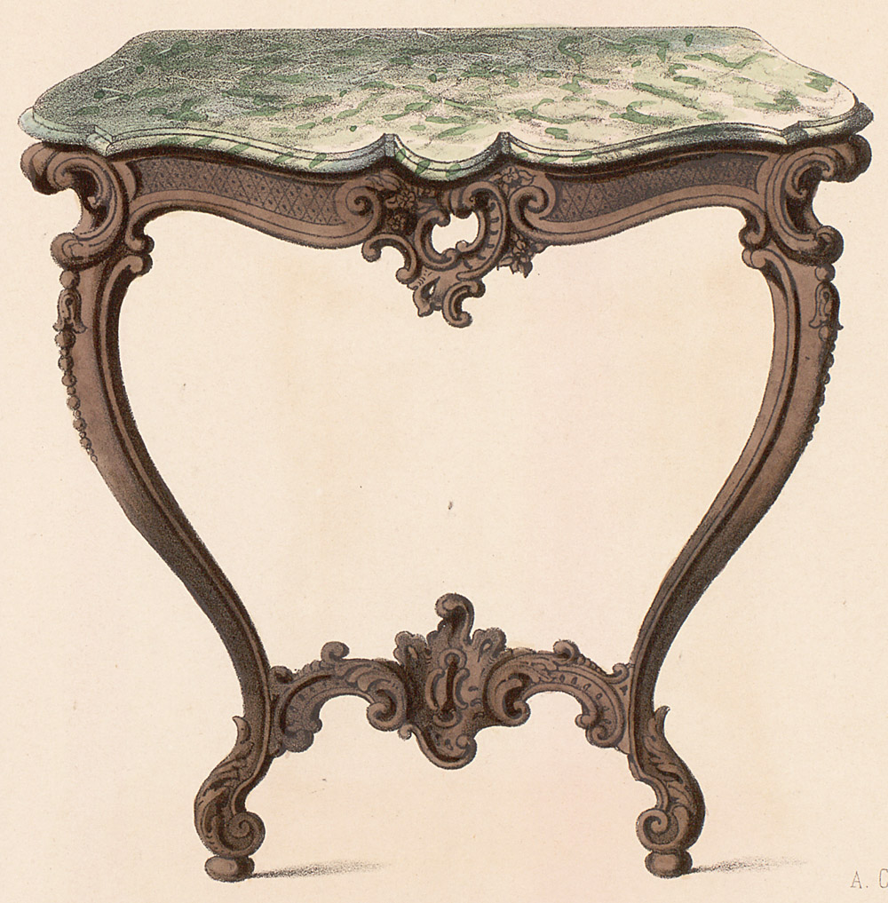 Tables (support furniture),  Image number:SIL12-2-114c