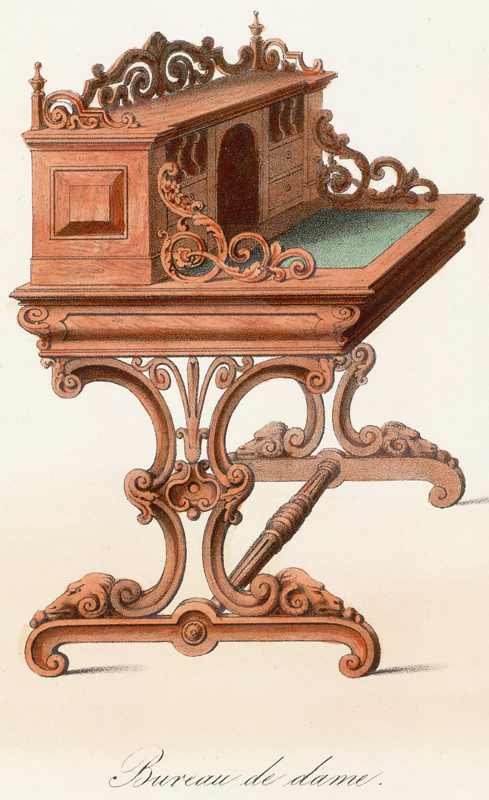 Desks,  Image number:SIL12-2-150c