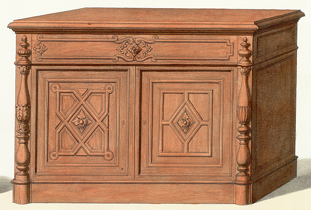 Cabinets (case furniture),  Image number:SIL12-2-221c
