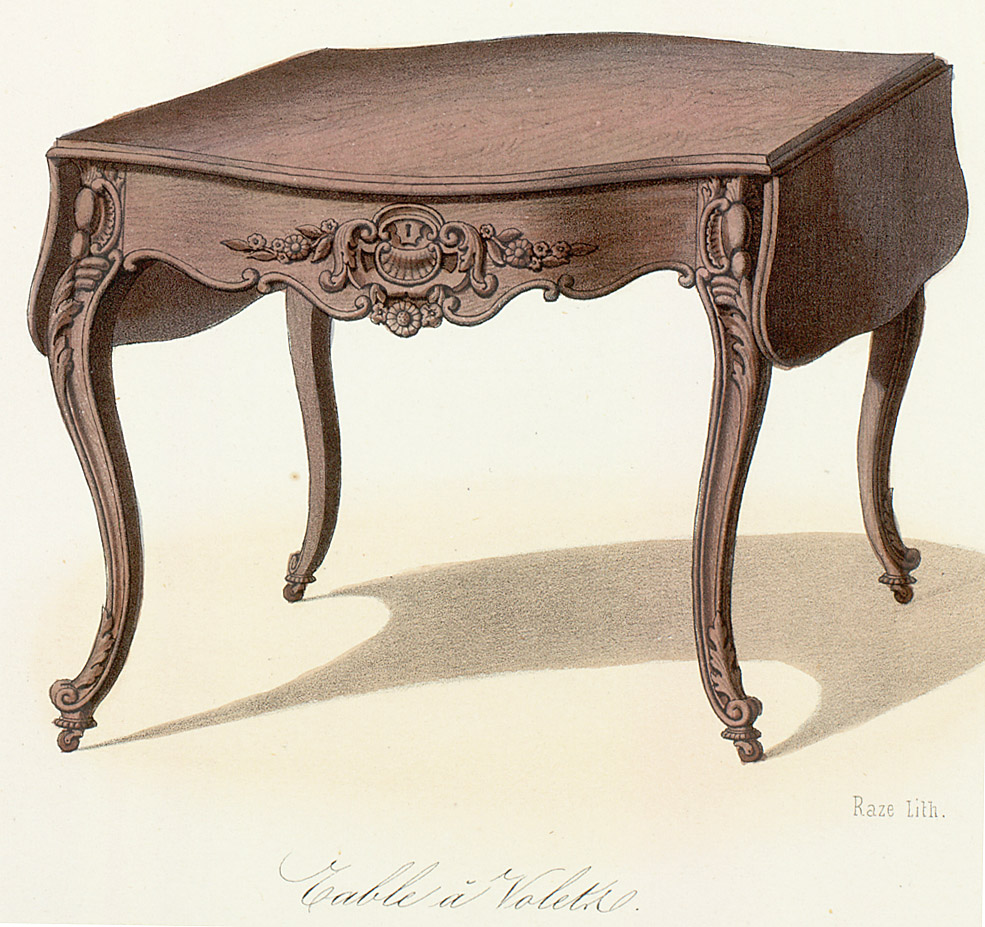 Tables (support furniture),  Image number:SIL12-2-277c