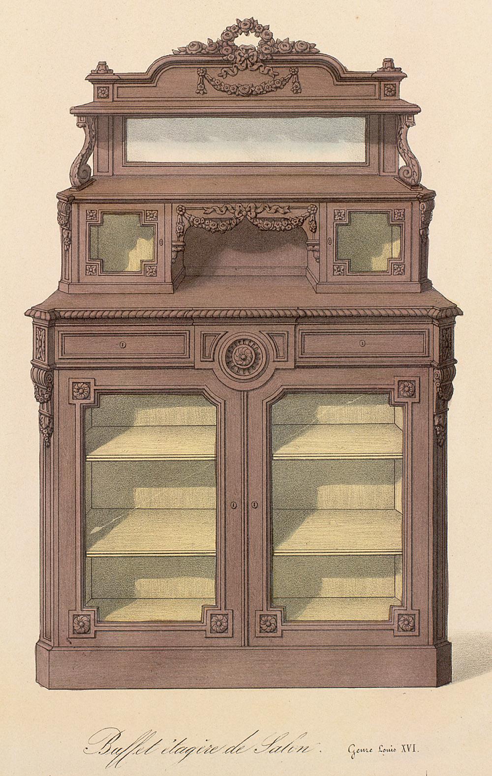 Cabinets (case furniture),  Image number:SIL12-2-310c