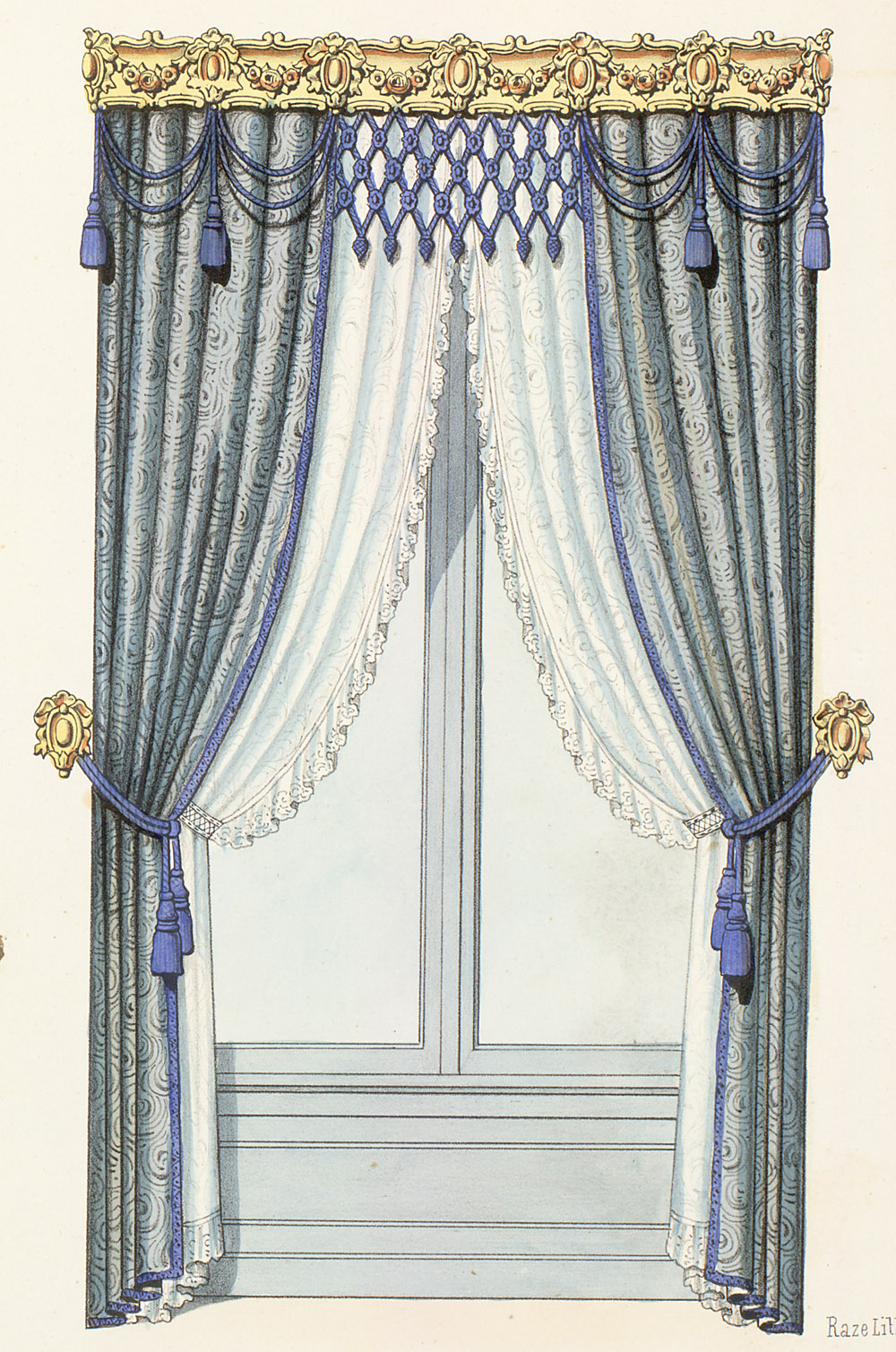 Window Treatment,  Image number:SIL12-2-383c