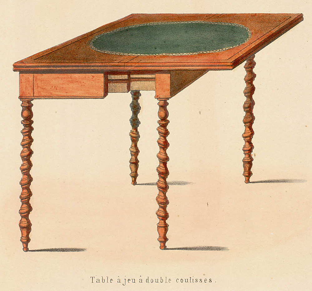 Tables (support furniture),  Image number:SIL12-2-051d