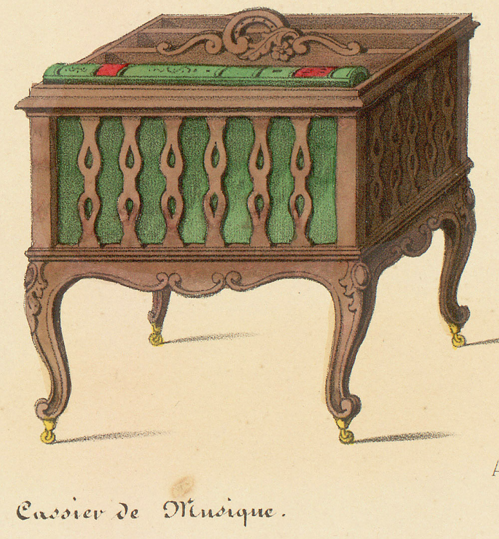 Canterburies (storage furniture),  Image number:SIL12-2-095d