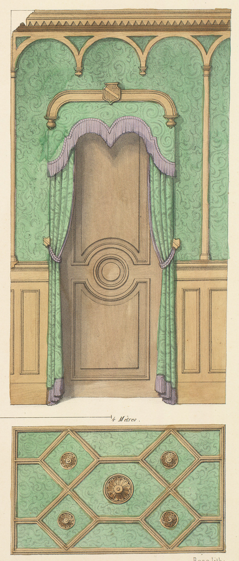 Interior Elevations,  Image number:SIL12-2-207d